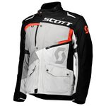 _Scott Dualraid DP Jacket Titan Grey/Orange | 246396602100-P | Greenland MX_