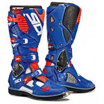 _Sidi Crossfire 3 Boots White/Blue/Red Fluo | BSD3300600 | Greenland MX_