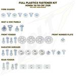 _Honda Full Plastics Fastener Kits CRF 250 R 10-13 CRF 450 R 09-12 | BO-HON-091102 | Greenland MX_