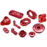 _Kit Accesorios Aluminio Zeta Racing Suzuki DRZ 400 SM 05-17 Rojo | ZE51-2272 | Greenland MX_