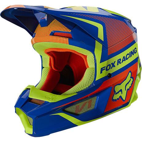 _Fox V1 OKTIV Youth Helmet   25878-002   Greenland MX_