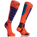 _Acerbis MX Impact Socks Orange/Blue | 0021633.204.00P | Greenland MX_