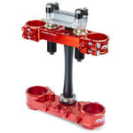 _Triple Clamp Neken SFS Suzuki RMZ 250 14-15 (Offset 21.5mm) Red | 0603-0588 | Greenland MX_