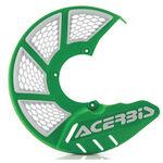 _Protector Disco Delantero Acerbis X-Brake 2.0 Vented Verde/Blanco | 0021846.130 | Greenland MX_