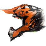 _LS2 MX470 Subverter Emperor Helmet Black/Orange   404702252P   Greenland MX_