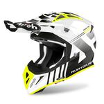 _Casco Airoh Aviator ACE Nemesi Blanco Brillante | AVAN38 | Greenland MX_