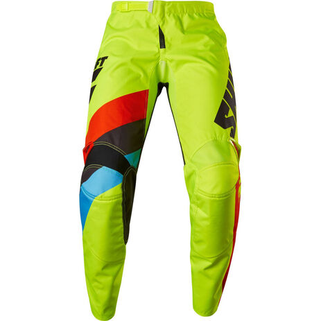 _Shift White Label Tarmac Youth Pants Yellow Fluor | 17220-130 | Greenland MX_