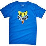 _Fox Fox Lyruh Kid T-Shirt Blue | 21287-188-KP | Greenland MX_