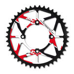 _Rear Sprocket S3 Trial Rear Sprocket Black-Red | CH-469-B | Greenland MX_