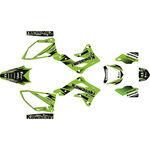 _Kawasaki KX 450 F 12-15 Full Sticker Kit Green Edition | SK-KX4501215GR-P | Greenland MX_