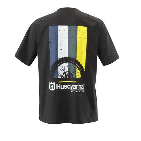 _Husqvarna Striped T-Shirt | UHS210052800 | Greenland MX_