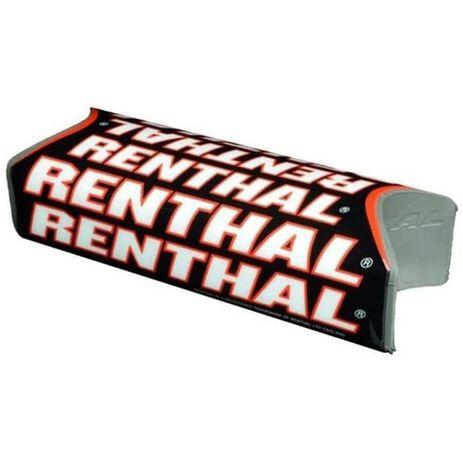 _Renthal Fat Bar Team Issue Square Handlebar Pad Black/Red | P311-P | Greenland MX_