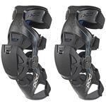 _Rodilleras Ortopédicas POD Active K8 Carbon Azul/Negro | K8013-01 | Greenland MX_