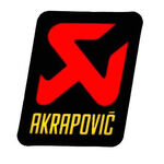 _Akrapovic racing end cone decal 60x60 mm | P-USTBPO | Greenland MX_