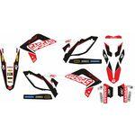 _Gas Gas EC 125/250/300 12-13 Replica 300 Factory 13 Full Sticker Kit | SK-GG300FA12 | Greenland MX_