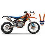 _KTM EXC 17-19 Go Pro Full Sticker Kit New Black Edition | SK-KT17GP19RBBKN | Greenland MX_