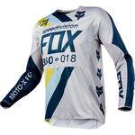 _Fox 360 Draftr Jersey Gray/Blue   19418-097-P   Greenland MX_