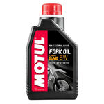 "_<p style=""line-height: normal;""><strong>Motul Fork Oil FL Light 5W&nbsp;</strong></p> <p>Hydraulic fluid for racing applications specially formulated for SHOWA, KAYABA, OHLINS, WP forks, and any type of upside/down or conventional telescopic fork.</p> <ul> <li>Reduced internal friction, specially fork tubes and seals thanks to the exclusive anti-friction additive<br />designed and developed by MOTUL.</li> <li>Outstanding suspension performance as soon as riding and maintained performance in the time.</li> <li>High performance anti-foam avoiding air transfer to the air chamber to maintain suspension<br />performance.</li> <li>Anti-wear and extreme pressure properties.</li> <li>Anti-corrosion.</li> <li>Seals protection.</li> </ul> 