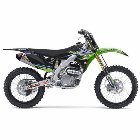 _Kit Adhesivos Completo + Funda Team Kawasaki Pro Circuit Usa KX 85 01-13   DK1385   Greenland MX_