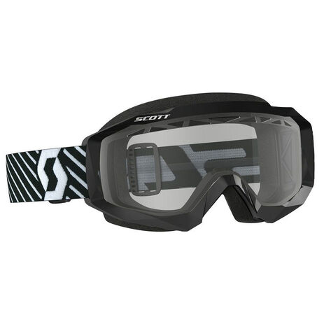_Scott Hustle MX Enduro Goggles Black/White   2625941007043   Greenland MX_