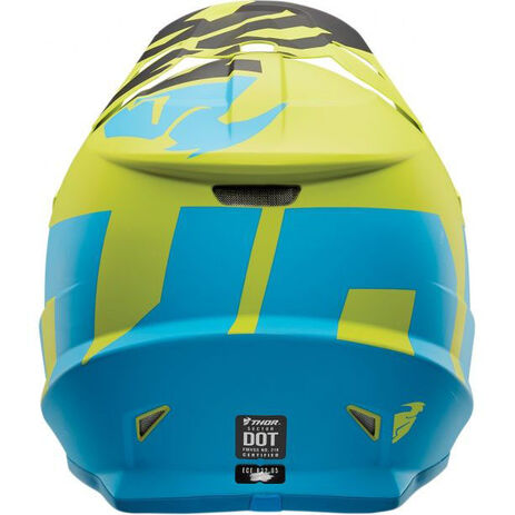 _Thor Sector Level Helmet Blue/Green | 01105142-P | Greenland MX_