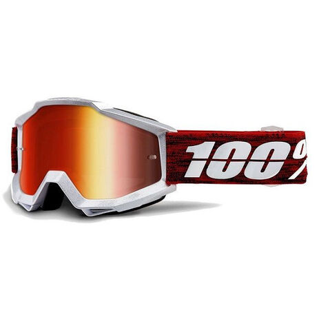_100% Goggles Accuri Graham Red Mirror   50210-285-02   Greenland MX_