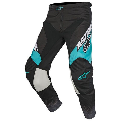 _Alpinestars Racer Supermatic 2017 Pant Black/Grey/Teal | 3721517-1016 | Greenland MX_