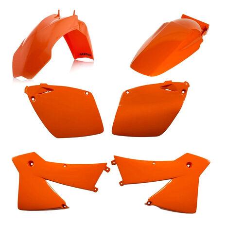 _Acerbis KTM SX-F 450/525 EXC-F 400/450/500 03 Plastic Kit Orange | 0007526.010 | Greenland MX_