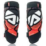 _Acerbis Soft Knee Guards Adult 3.0 Black/Red | 0022778.323 | Greenland MX_