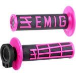 _ODI MX Lock On V2 Emig 4ST Grips Black/Pink   H34EMBP   Greenland MX_