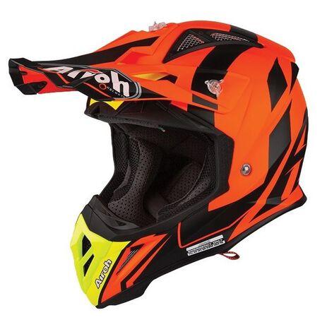 _Airoh Aviator 2.3 Bigger Helmet Orange | AV23B32 | Greenland MX_