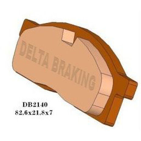 _Delta Front Brake Pads Yamaha Yamaha YZ 80-85 93-..YZ 65 18-.. | DB2140 | Greenland MX_