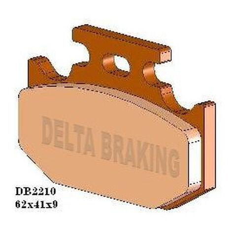 _Delta Brake Pads Rear Kawasaki KX 125/250 90-94 KX 500 89-95 RM 125 87-95 YZ 125 90-97 YZ 250 89-97 WR 250 91-97 WR/YZ 400 98 | DB2210 | Greenland MX_