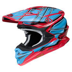 _Shoei Helmet VFX-WR Glaive TC-1   VFXWRGTC10   Greenland MX_