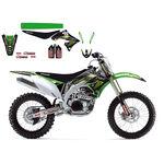 _Kit Deco + House De Selle Blackbird Monster Energy Kawasaki Racing Team KX 450 F 09-11 | 8419R8 | Greenland MX_