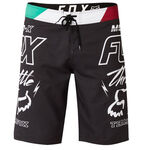 _Fox Throttle Boardshort Black | 21129-001-P | Greenland MX_