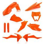 _Acerbis KTM EXC/EXC-F 17-19 Plastic Full Kit Orange 16   0023591.011.016-P   Greenland MX_