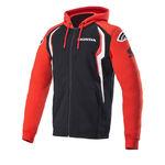 _Sudadera con Capucha Alpinestars Honda Rojo/Negro | 1H20-23200 | Greenland MX_