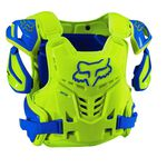 _Fox Raptor Protector Blue/Yellow | 12351-026-P | Greenland MX_