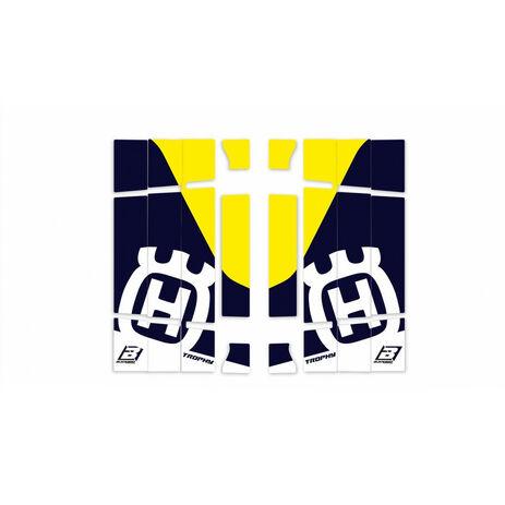 _Autocollants Radiateur Blackbird Replica Trophy 2020 Husqvarna FC/TC 19-.. TE/FE 20-.. | A603R4 | Greenland MX_