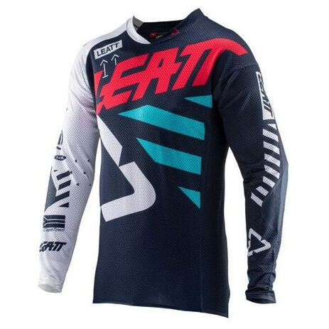 _Jersey Leatt GPX 5.5 UltraWeld Blue | LB5019010210P | Greenland MX_