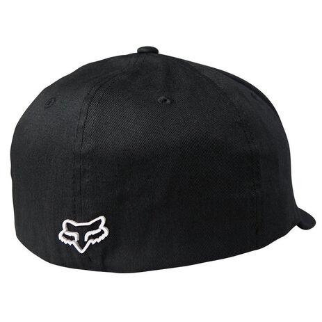 _Fox Pro Circuit Draftr Flexfit Hat Black | 22195-001-P | Greenland MX_