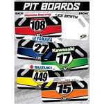 _Tj yamaha racing pit board | TJBANY | Greenland MX_