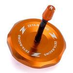 _Zeta Aluminum KTM EXC/EXC-F 11-.. SX 65 10-.. SX/SX-F 125-450 11-12  Gas Cap Orange   ZE87-4208   Greenland MX_
