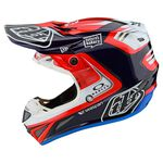 _Troy Lee SE4 Carbon Helmet Flash Team | 10679300-P | Greenland MX_