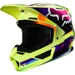 _Fox V1 Gama Helmet Yellow   25472-005   Greenland MX_