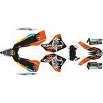 _KTM EXC/EXC-F 08-11 Full Sticker Kit WESS | SK-KTEXC0811WSBKOR-P | Greenland MX_