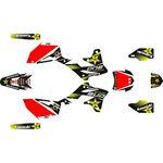 _Kawasaki Full Sticker Kit KX 250 F 13-16 Rockstar | SK-KX250F1316RKS-P | Greenland MX_