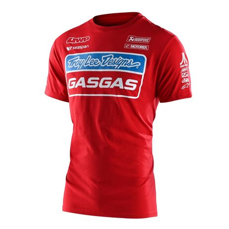 _Troy Lee Designs Gas Gas Team T-Shirt Red   701318002-P   Greenland MX_