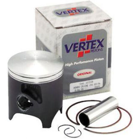 _Piston Vertex Honda 250 CR 89-96 Suzuki RM 250 96-99 2 Segment | 2386 | Greenland MX_